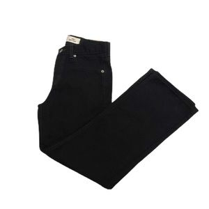 Levi's 550 Relaxed Fit Boys Black Jeans 14
